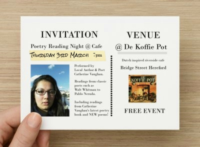 Invitation Poetry Reading