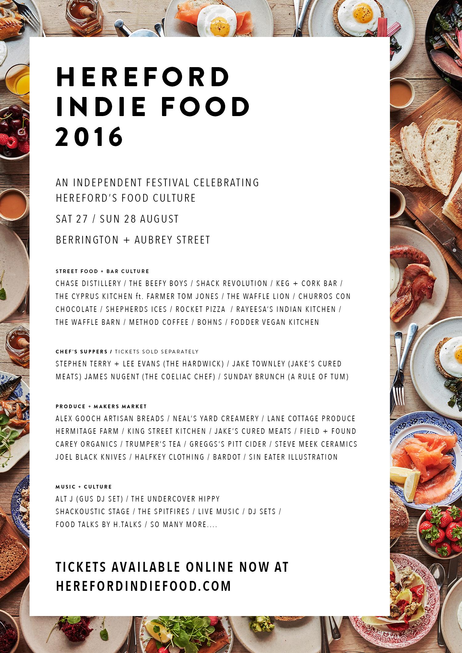 Hereford Indie Food Festival