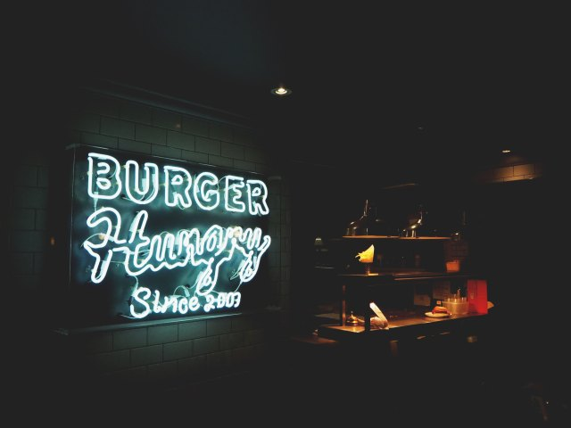 burger lights