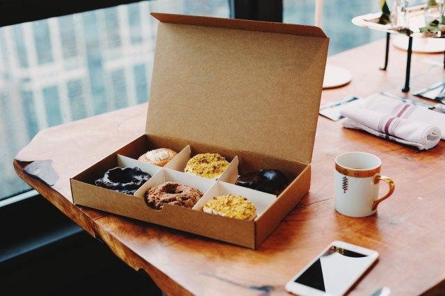 donuts coffee