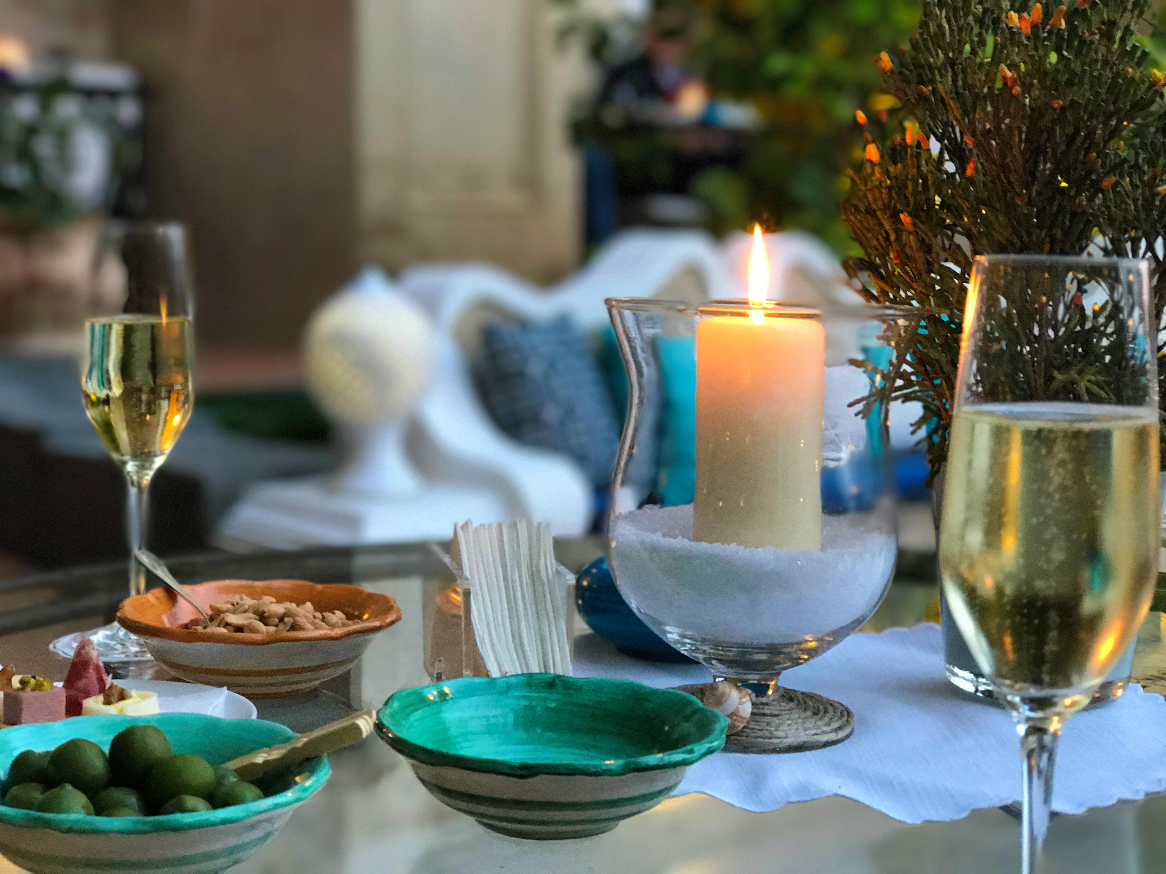 christmas table platter_fl